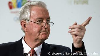 Spanien IOC-Vizepräsident Craig Reedie in Madrid