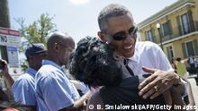 USA Barack Obama besucht New Orleans