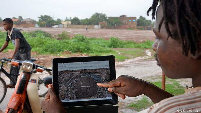Burkina Faso Die Initiative hat viele Ideen für die große Fläche in Ouagadougou Foto: Katrin Gänsler
