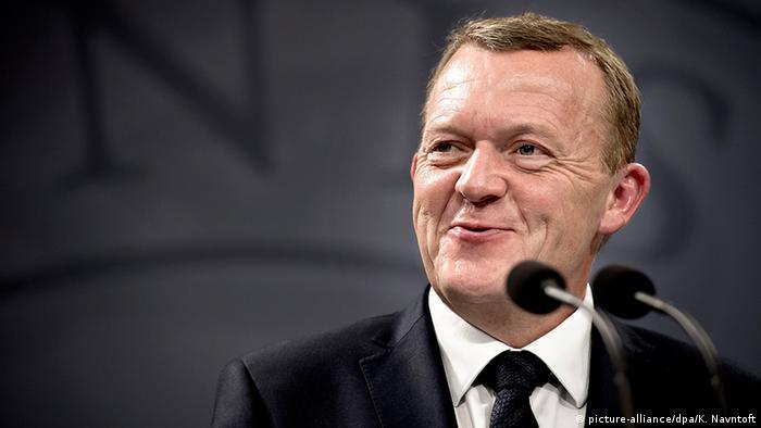 Dänemark Ministerpräsident Lars Lökke Rasmussen (picture-alliance/dpa/K. Navntoft)