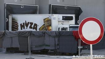 Österreich Tote Flüchtlinge in LKW entdeckt Nickelsdorf