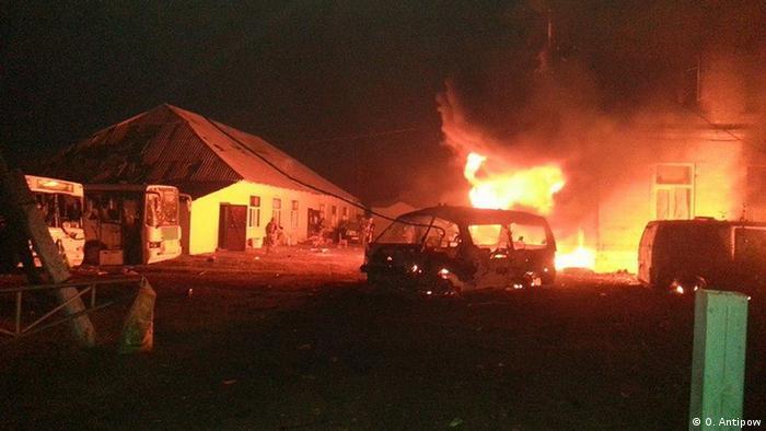 Ukraine Kämpfe in Ilowajsk