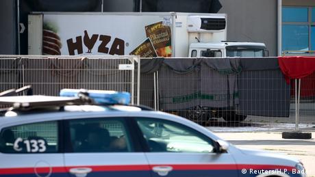 Tote Flüchtlinge in LKW entdeckt Österreich Polizei