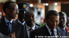 Kenia EAC Gipfel in Nairobi Paul Kagame und Pierre Nkurunzinza