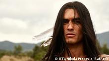Kroatien Schauspieler Nik Xhelilaj als Winnetou
