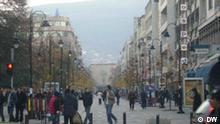 Sime Nedevski (4699, Mazedonische Redaktion, sime.nedevski@dw-world.de) wuenscht die Einstellung eines Bildes in die DW-Online-Datenbank. Gewuenschter Titel des Bildes: Skopje,Ulica Makedonija Gewuenschte Bildbeschreibung Das Bild ist in Skopje,am 29 November, von Sime Nedevski, aufgenommen. Am Bist ist die Hauptstrasse Makedonija in Zentrum von Skopje zu sehen. Gewuenschte Schlagworte: Skopje,Ulica Makedonija Uebertragung der Rechte dieses Bildes an DW-Online Ich, Sime Nedevski übertrage die Urhaberrechte an der DW.