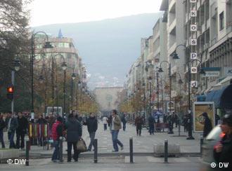 Во центарот на Скопје воздухот е премногу загаден
