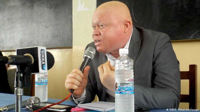 Demokratische Republik Kongo Albino-Festival Pastor Samy Mulumba