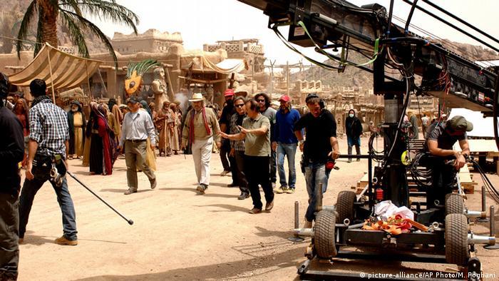 Dreharbeiten zum Film Muhammad von Regisseur Majid Majidi
