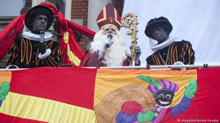 Niederlande Nikolaus und der schwarze Piet