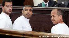 Archivbild Ägypten Al Jazeera Journalisten Prozess