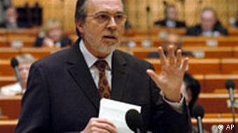 Dick Marty im Europarat