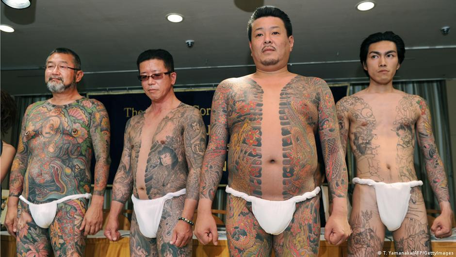 Japan s police braces for gang violence over yakuza split for Turkish mafia tattoos