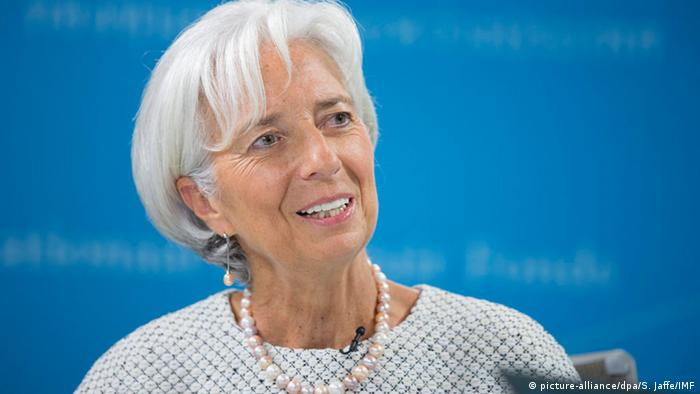 Porträt Christine Lagarde