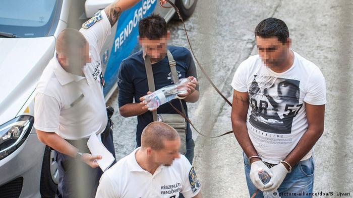 Österreich Schlepper werden verhaftet