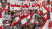 Libanon Protest in Beirut