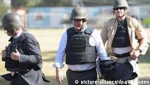 Afghanistan Frank-Walter Steinmeier nach seiner Landung in Kabul