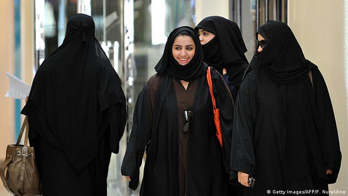 Saudi Arabien Frauen (Getty Images/AFP/F. Nureldine)