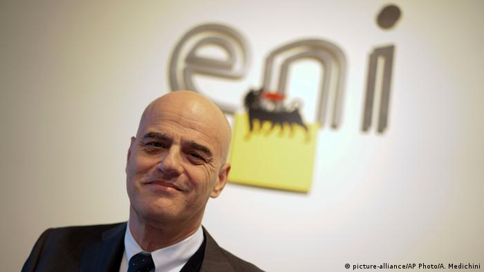 ENI chief Claudio Descalzi