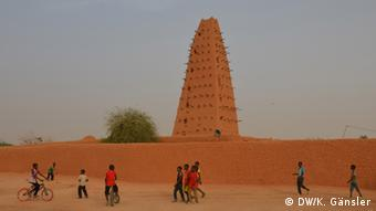 Migranten in Agadez