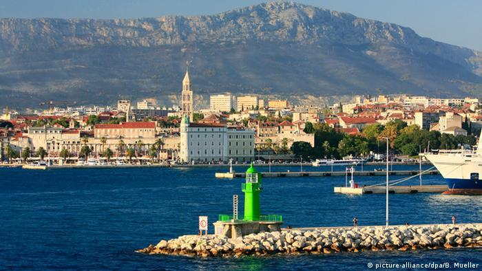 Pogled na središte Splita