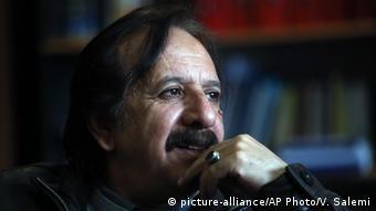 Iranian filmmaker Majid Majidi, director of 'Muhammad, Messenger of God' movie speaks in an interview with The Associated Press in Tehran, Iran (AP Photo/Vahid Salemi)