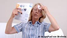 Symbolbild Menopause Wechseljahre Hitzewallung Leid Gesundheit