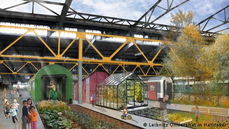 Willkommens-Architektur für Flüchtlinge: Wohnidee - Wohnen im Zug