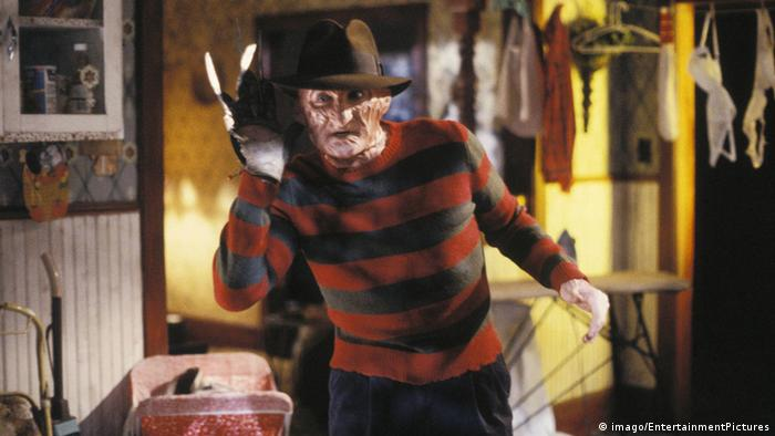 Freddy Krueger em cena de A Hora do Pesadelo: (imago/EntertainmentPictures)