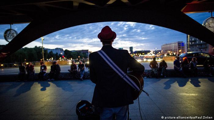 Straßenmusiker Raoul Berlin