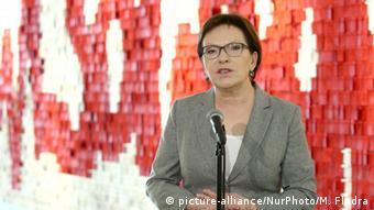 Polish Prime Minister Ewa Kopacz