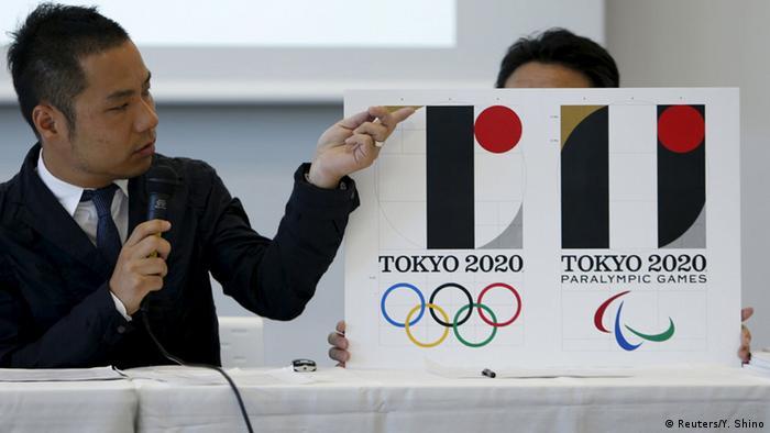 Japan Kenjiro Sano Logo Tokyo 2020 Olympische und Paralympische Spiele (Reuters/Y. Shino)