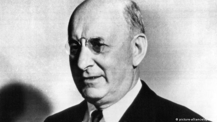 Henry Morgenthau jr. Porträt SW Politiker ehem. Finanzminister
