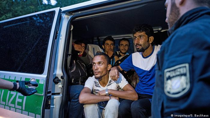 Flüchtlinge aus Syrien bei Passau (Foto: dpa)
