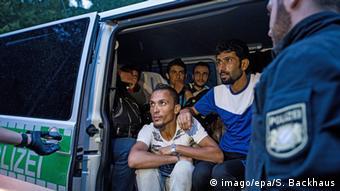 Deutschland Flüchtlinge aus Syrien bei Passau