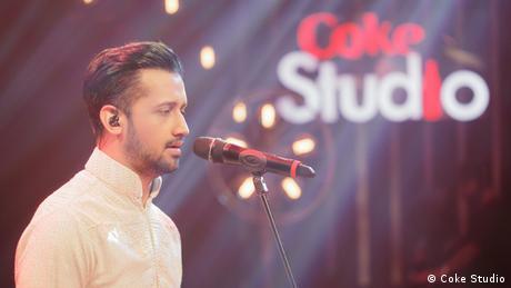 TV Musik Sendung Coke Studio Pakistan Sänger Atif Aslam