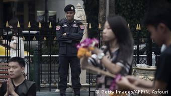 Thailand Bombenanschlag Gedenken am Tatort