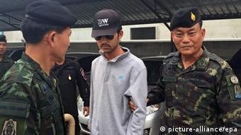 Thailand Bombenanschlag Verdächtiger Festnahme