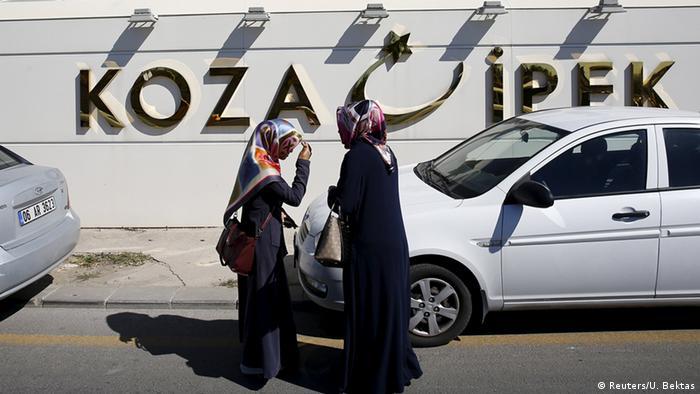 Entrance to Koza-Ipek-Holding