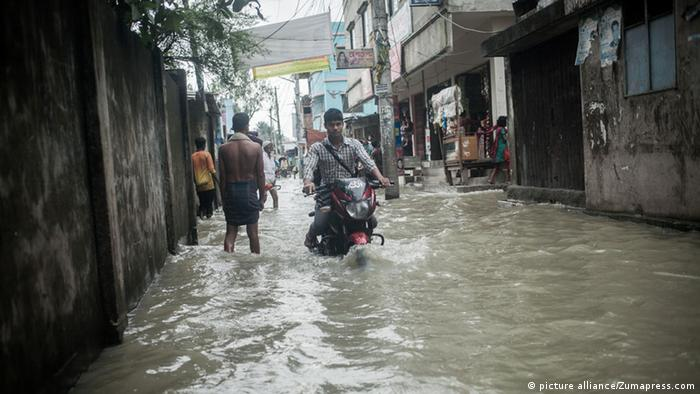 Flood in Dhaka, Bangladesh