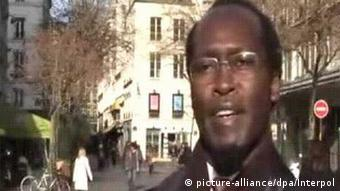 An Interpol picture showing Callixte Mbarushimana before his arrest