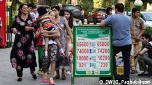 Tadschikistan Wechselkurse in Wechselstuben in Duschanbe
