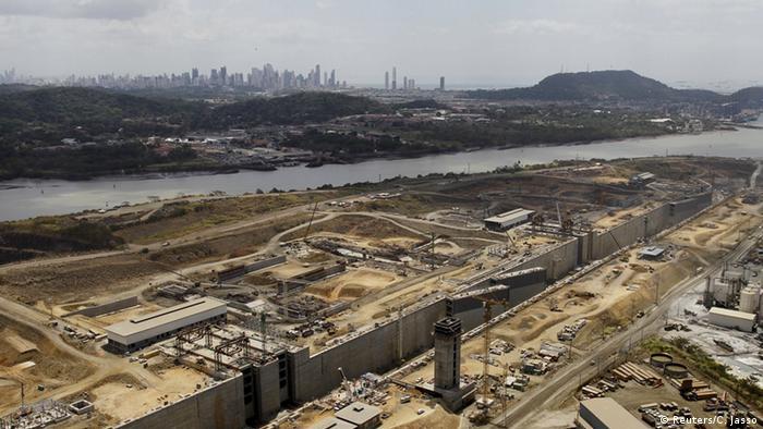 El proyecto del Canal de Panam� se agrieta