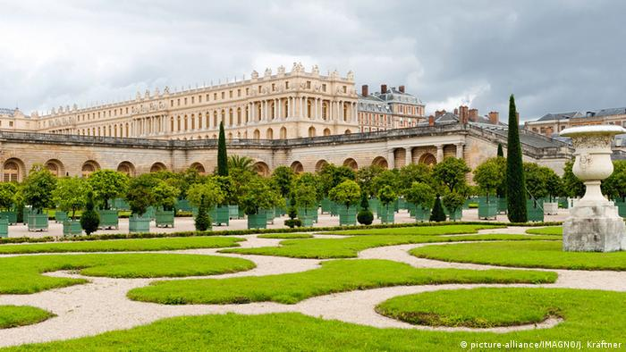 Palace and gardens at Versailles, Paris (picture-alliance/IMAGNO/J. Kräftner)