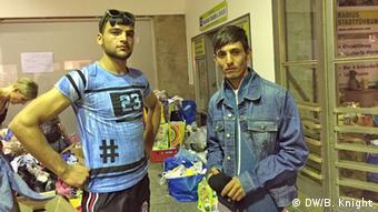 Deutschland Flüchtlinge in München Hauptbahnhof Flüchtlinge