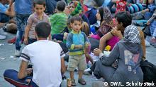 Bildergalerie Ungarn Flüchtlinge Bahnhof