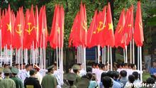 Vietnam 70 Jahre Unabhängigkeit Parade Anfang