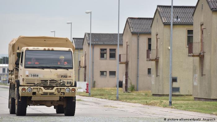 Военная база Казармы Коулмана в Мангейме