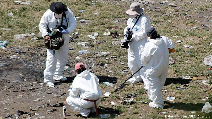 Mexiko Massengrab bei Cocula entdeckt