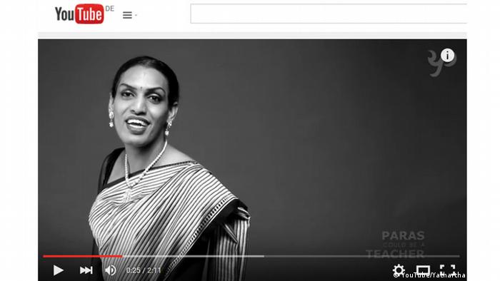 Screenshot YouTube Viral Video Transgenders India